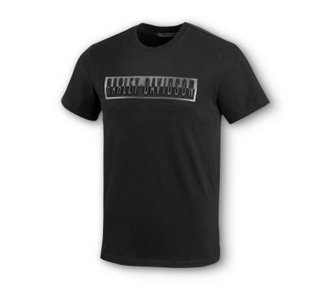 Harley Davidson Embossed rubber graphic Tshirt