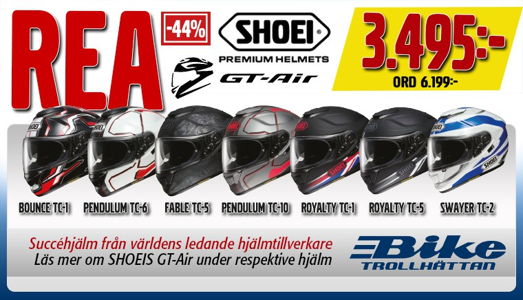 Shoei GT-air på kampanj