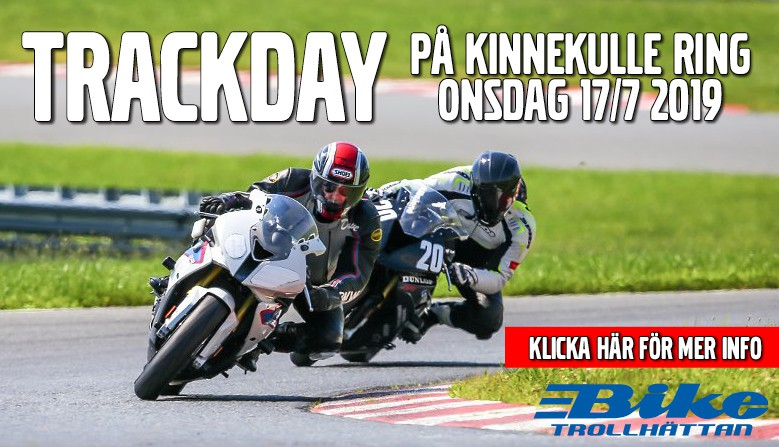 Trackday på Kinnekulle Ring 17/7 2019..